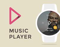 Smartwatch Music App (Concept)