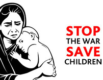 Save Children - Stop War