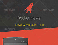 Rocket News & Magazine Android App - UI