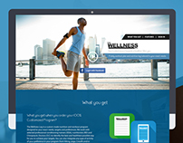The Wellness Log - WebDesign