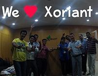 WE LOVE XORIANT - Stop Motion Selfie Video