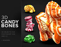 3D CandyBones – Photoshop 3D Objects
