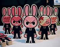 Mad Rabbit – Wood Toy
