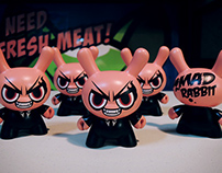 Mad Rabbit – Dunny 3″ Custom