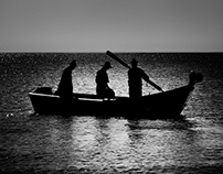 Early Morning Fishing in Martil: Morocco