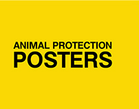Animal protection posters