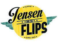 Jensen And The Flips band logo