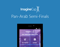 Windows Phone App: Imagine Cup Pan-Arab