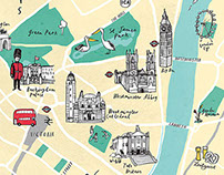 Map of Pimlico, London