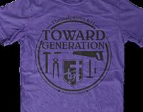 Toward Generation | Branding/Apparel design