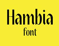 Hambia Font