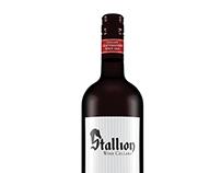 Wine Bottle Design: Stalllion Wine Cellars