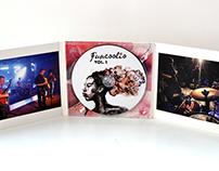 FunCOOLio Vol. I CD cover art. 2014.