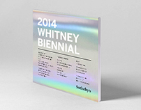 Whitney Biennial Invitation