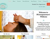 PK Wellness Website Redesign
