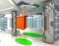 Intact Media Group Set Design