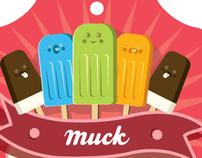 Muck Summer Print-illustrations