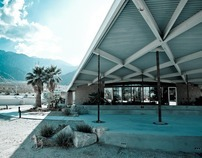 Albert Frey's Tramway Rd Gas Station, Palm Springs