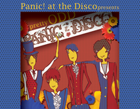 Panic! At the disco CD cover illustrations