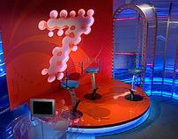 TV studio, Krasnoyarsk, Russia