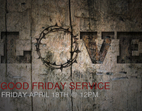 Flyer - Good Friday Service