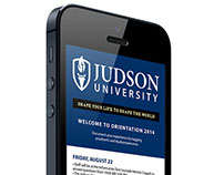 Judson University Orientation Schedule 2014