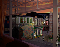 Rear Window  -  London -  60´s