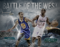 Curry vs. CP3 'Battle of the West' Design