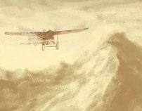 El avión de papel
