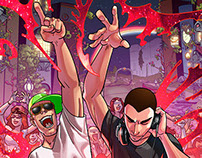 Dimitri Vegas & Like Mike - TOMORROWLAND comic