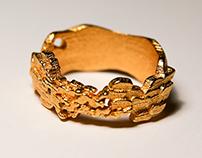 Fiery Signet Ring