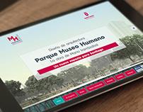 Parque Museo Humano, La obra de Mario Irarrázabal