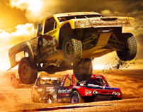Lucas Oil Off Road Racing Artwork