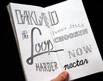Carnet de Typographie