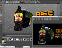 Malta Guiness rise of a continent Animation
