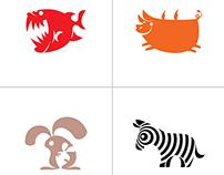 animal (vector) symbols...