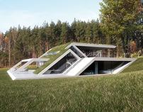 Mobius Architekci - Slope House