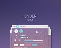 ONDER - [UIkit][PSD]