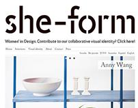 She-form - Women in Design (Web & Graphic Design)