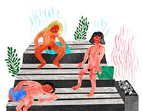 Sauna Arla (Illustration)