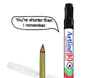 Artline Marker Pens