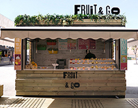 Fruit&Go, Pop-up Store