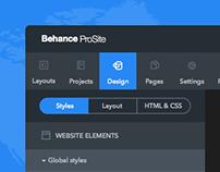 Behance ProSite
