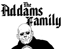 """MY 90's SUPER HEROES NEVER DIE"" : THE ADDAMS FAMILY"