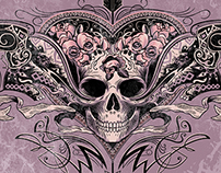 Skull Heart Graphic