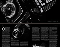 Film Magazine Spread