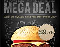 Restaurant/Fast Food Promotion Flyer Template