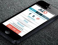 JIZO - iOS App and Website