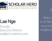 Scholar Hero Business Card