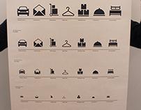 Christchurch employment infographic, icon set  & graphs